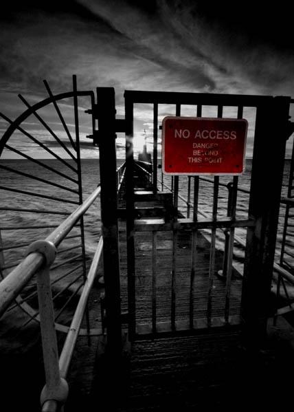 Pier Warning