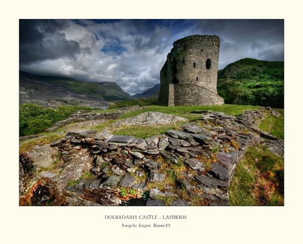 Dolbadarn Castle by AngieLatham