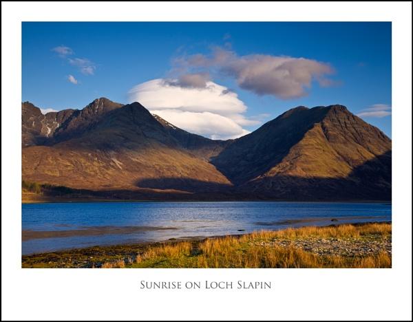 Sunrise on Loch Slapin... by Scottishlandscapes