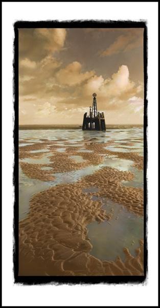Derelict pier by PeeCee