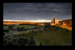 Light on the Corfe...