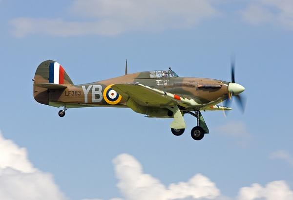 Hawker Hurricane by bazhutton