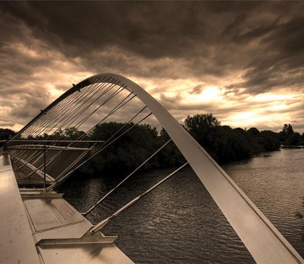 Millenium Bridge, York by jammy_sam