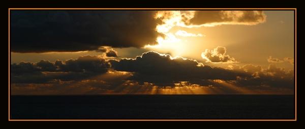caribbean sunrise by gribishok