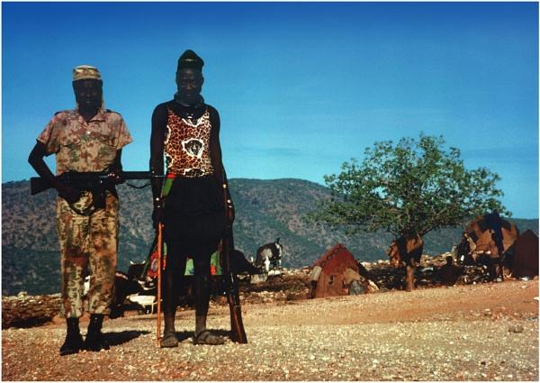 Ovahimba Police by WimdeVos