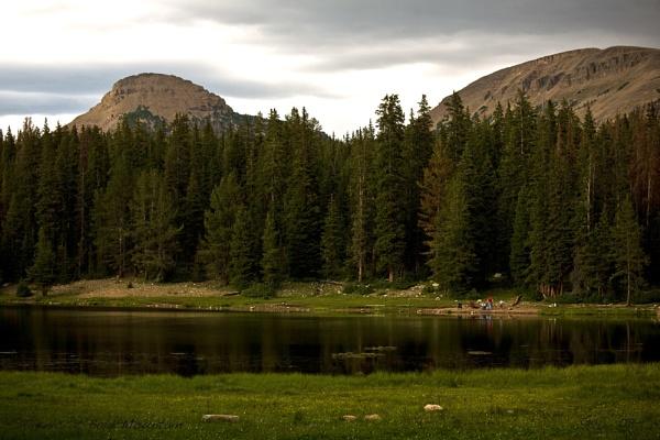 Picnic at Bald Mountain by gajj