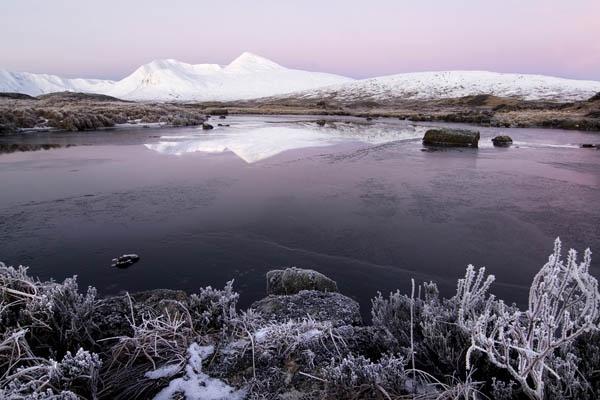 Ranoch moor sunrise by david.smith