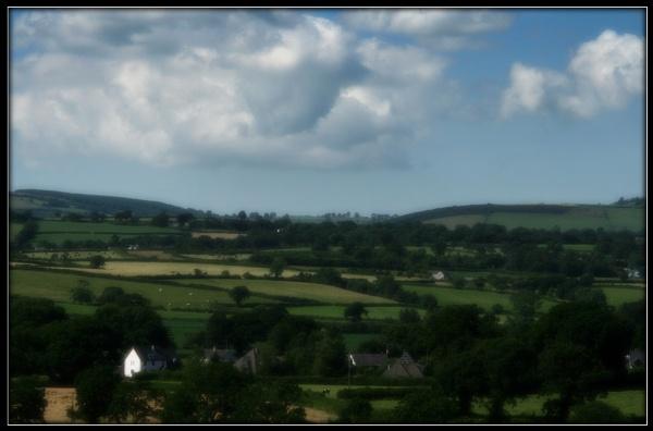 Carmarthenshire Landscape by Morpyre