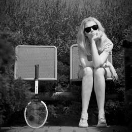 WHERE IS MY TENNIS BALL ?