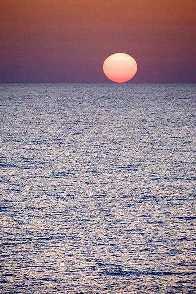 Ocean Sunset by MarcPK