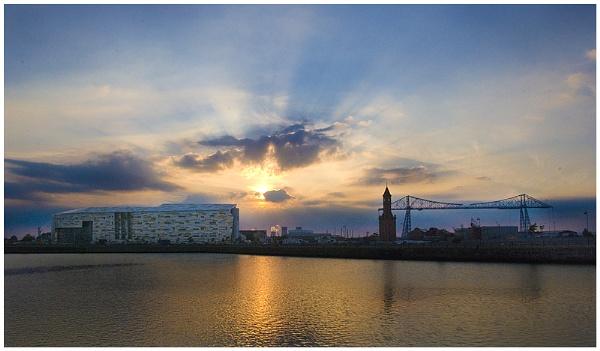 Middlesbrough Docklands by Vixs