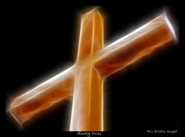 Glowing Cross by tonemapped