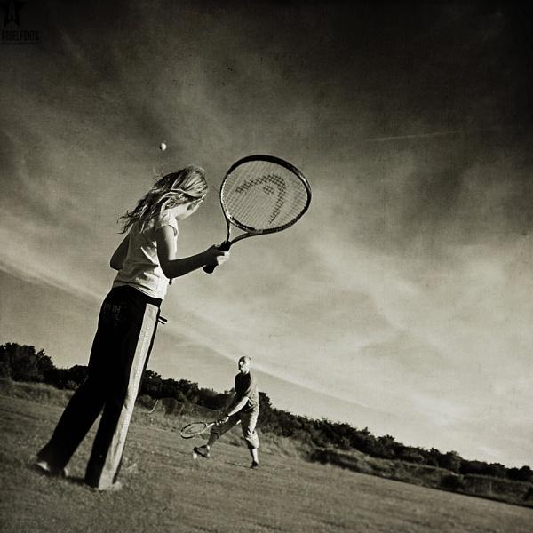 tennis :) by tomeda