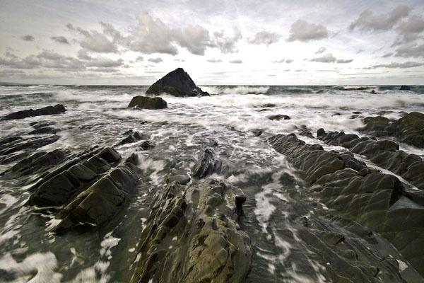 Sandymouth Storm by coxy