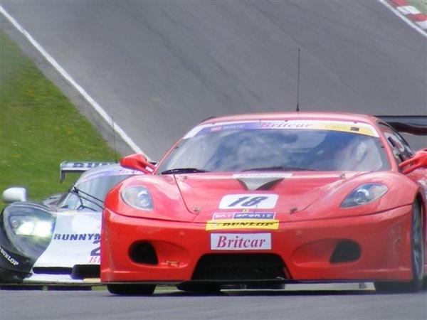 Ferrari f430 and mosler brands hatch by racephotographer