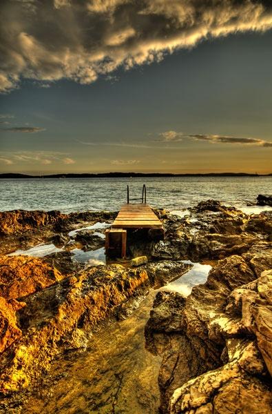 Beach Sunset by Rowan_Mark