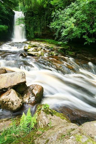 Talybont Waterfalls by Alan_Coles