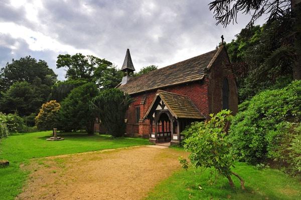 Styal Church by Elwin