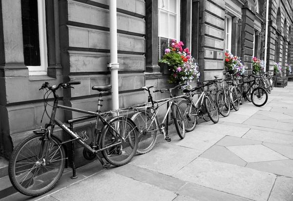 Bicycles Edinburgh by AlexisM