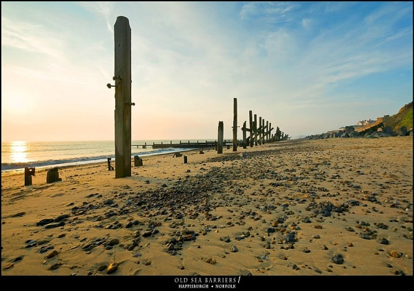 old sea barriers by Guillaume