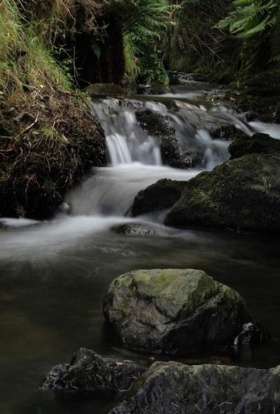 Comb Beck Waterfall by Bradfleet12