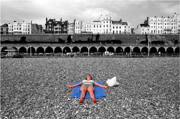 Lonely sunburn by WimdeVos