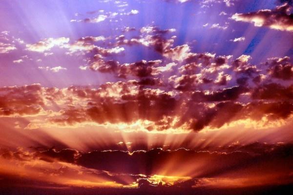 Sunrise Over Malaga by jackitec