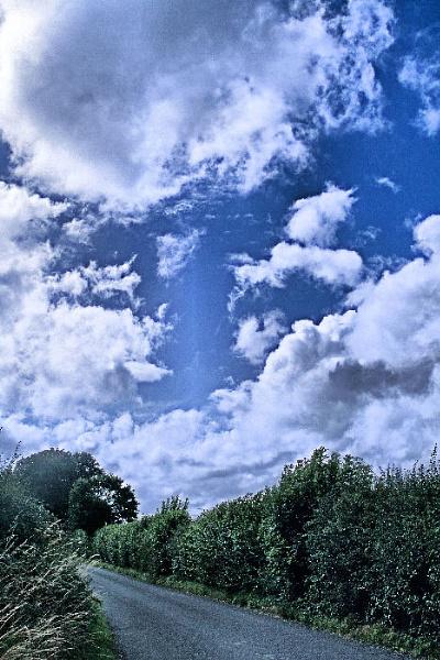 cloudy lane by MGP