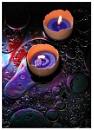 Tealights on Oil
