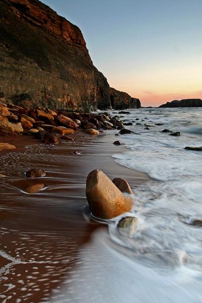 Saltwick Sunset by coxy