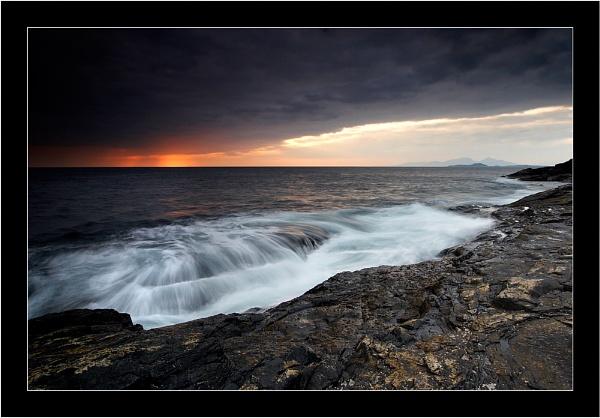 Stormy Sunset by jeanie