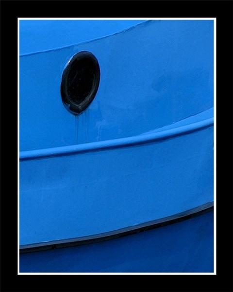 blue boat by A_Harrison