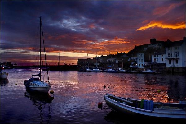 Harbour sunrise by C_Daniels