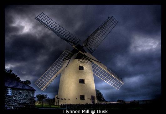 Llynnon Mill @ Dusk by Dimitris