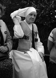 Nun in lifejacket