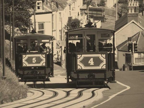 Llandudno trams by willshot