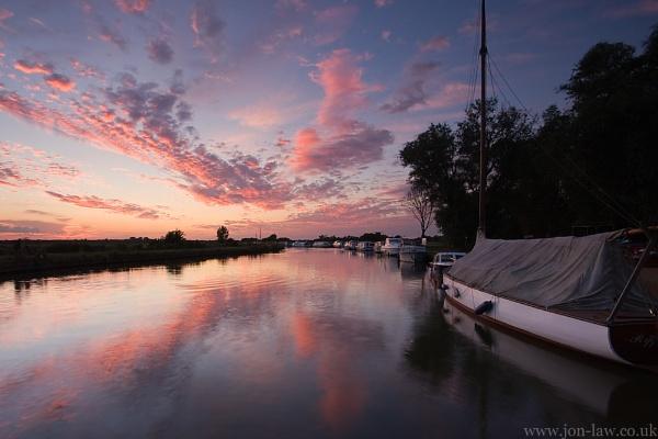 Ludham Sunset by kennyoak