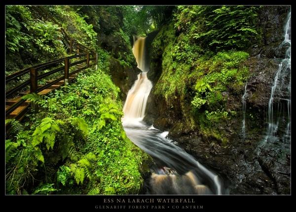 Ess Na Larach Waterfall by garymcparland