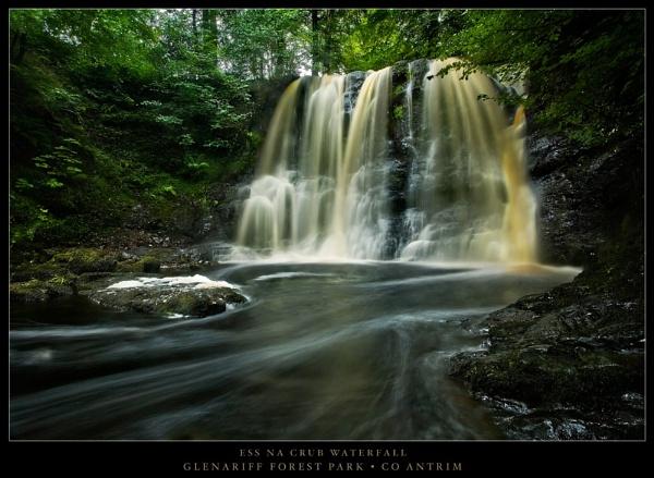 Ess Na Crub Waterfall by garymcparland