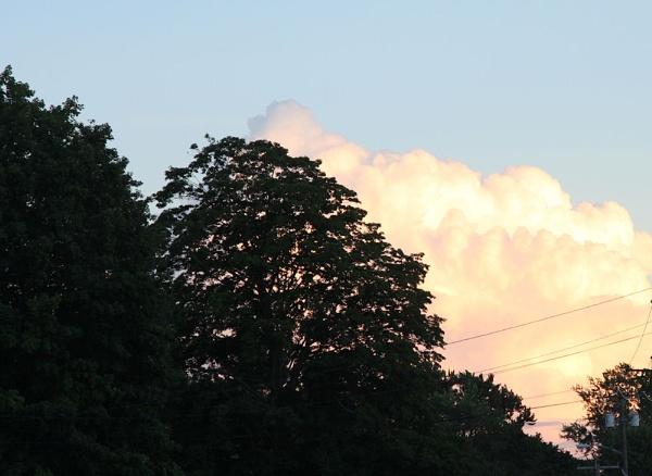 Evening clouds, by chuckspics