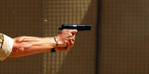 Pistol Shot by stedders