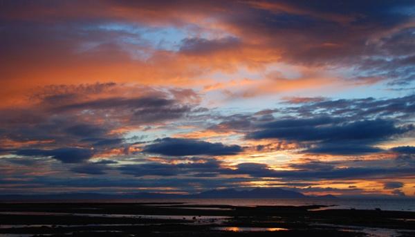 sunset over Arran by John45
