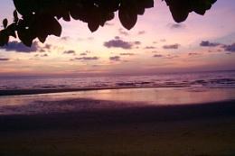 Thai sun set
