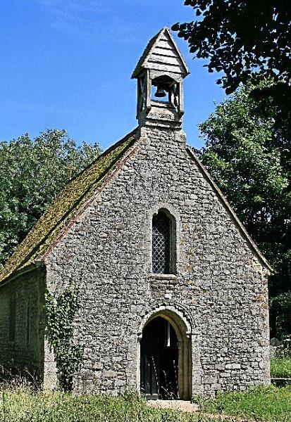 quaint 12th century church by MGP