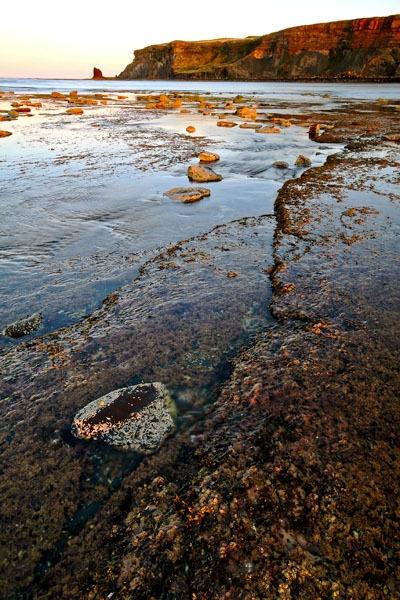 Last Light ,Saltwick Bay by coxy
