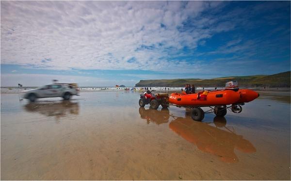 Beach Rescue by Paul_Barr
