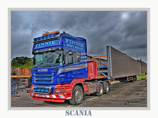 Scania by sawdust