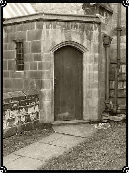 Church doorway by willshot
