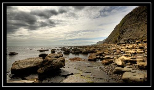 dorset rocks by gregbarker