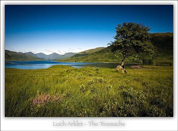 Loch Arklet by Landlord